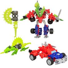 عروسک هاسبرو Transformers مدل Optimus Prime And Gnaw Dino کد A6165