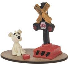 عروسک خميري آيس تويز مدل سگ با چراغ راهنمايي