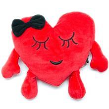 عروسک قلب پاپيون دار پوليشي پاليز سايز 2