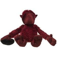 Paliz Monkey With Curly Hair Toys Doll Size Large