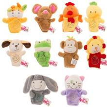 Runic Finger Puppets 310102-3A Size 1 Pack Of 10 Toys Doll