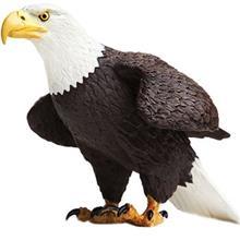 عروسک عقاب آمريکاي شمالي سافاري کد 251029 سايز 2