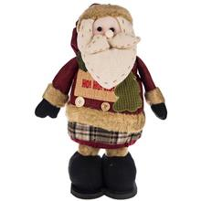 عروسک پوليشي مدل بابانوئل زنگوله دار سايز بزرگ