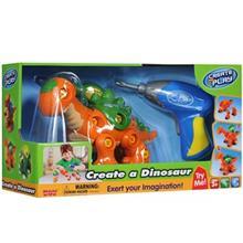اسباب بازي آموزشي هپي کيد مدل Creat A Dinosaur
