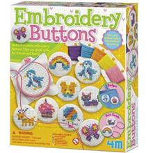 4M Embroidery Buttons Educationa Kit