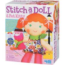 4M Stich A Doll And Pet Kitty