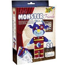 کيت کاردستي فوليا مدل Little Monster Specter
