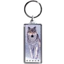 Cheatwell 3D Tiger And Wolf Keyring