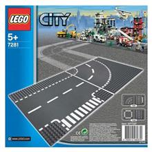 Lego City T-Junction And Curve 7281 Toys Lego