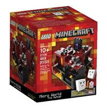 لگو سري Minecraft مدل The Nether کد 21106