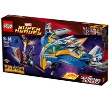 Lego Super Heroes Marvel The Milano Spaceship Rescue 76021 Toys