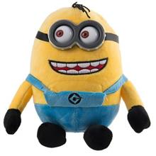 Minion Dave Plastic Eyes Plush Doll Size Medium