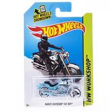 موتور اسباب بازي متل مدل HW Workshop Harley-Davidson Fat Boy