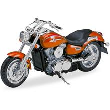 Welly Kawasaki Vulcan 1500 Mean Streak Toys Motorcycle