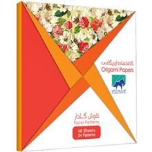 Oriman Floral Patterns Origami Papers