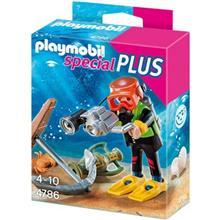 ساختني پلي موبيل مدل Treasure Diver 4786