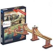 Clever and Happy Brooklyn Bridge Z-B139 64Pcs 3D Puzzle