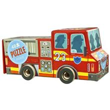 Crocodile Creek Fire Truck 48Pcs Toys Puzzle