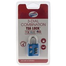 American Tourister 3 Dial Combination Lock