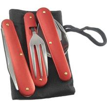 ست قاشق، چنگال و چاقوي سفري