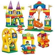 اسباب بازي ساختني اسلوبان مدل Kiddy Bricks Amusement Park M38-B6013
