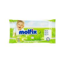 دستمال مرطوب Molfix مدل Lotion - بسته 20 عددی