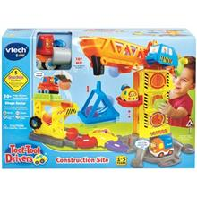 Vtech Toot Toot Drivers Construction Site Car Kit