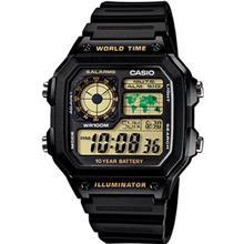 ساعت مچی دیجیتالی کاسیو AE-1200WH-1BVDF