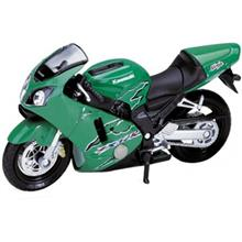 Welly 2001 Kawasaki Ninja ZX 12R Motorcycle