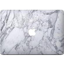 Wensoni White Marble Sticker For 15 Inch MacBook Pro