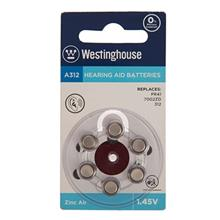 Westinghouse A312 Hearing Aid Battery