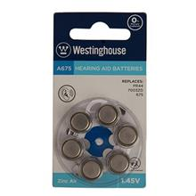 Westinghouse A675 Hearing Aid Battery