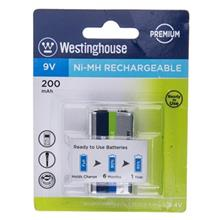 Westinghouse Ni-MH Rechargeable 9V 200 mAh Battery