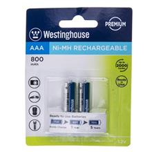 Westinghouse Ni-MH Rechargeable AAA 800 mAh Battery Pack of 2