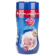 دستمال مرطوب کودک دافي مدل Nappy Rash مخصوص سوختگي پاي کودک- بسته 60 عددي