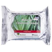 دستمال مرطوب پاک کننده آرایش پیوردرم مدل Aloe Vera Extract - بسته 30 عددی
