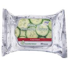 دستمال مرطوب پاک کننده آرايش پيوردرم مدل Cucumber Extract - بسته 30 عددي