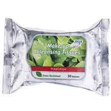 دستمال مرطوب پاک کننده آرايش پيوردرم مدل Green Tea Extract - بسته 30 عددي