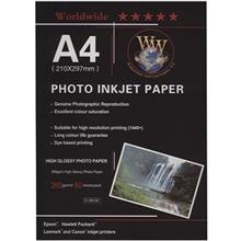 Word Wide Photo Injection Paper A4 - Pack of 50