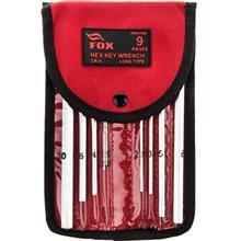 مجموعه 9 عددي آچار آلن فاکس مدل FX020182B