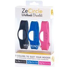 پک 3 عددی بند مچبند هوشمند مای کرونوز مدل ZeCircle X3 Classic