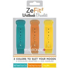 Mykronoz ZeFit2 X3 Colorama Pack Wristbands Bracelets
