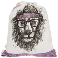 Yenilux Retro Lion Backpack