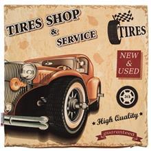 کاور کوسن ینیلوکس مدل Tire Shop