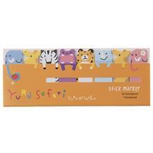 کاغذ یادداشت چسب دار سری Yuru Animal طرح Yuru Safari - بسته 120 عددی