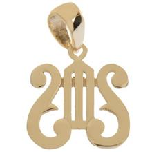 Zarin AB1088 Gold Necklace Pendant