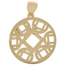 Zarin AB1093 Gold Necklace Pendant