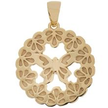 Zarin AB446 Gold Necklace Pendant