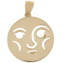 Zarin AB85 Gold Necklace Pendant