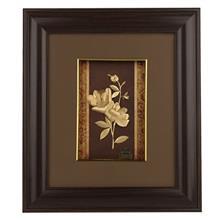 تابلوي طلاکوب زرسام طرح گل رز سايز 35 × 40 سانتي متر